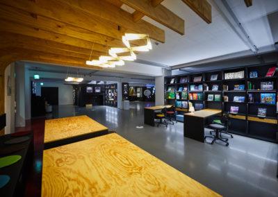 F.LUX Schülerforschungslabor für Licht und Beleuchtung NRW Innenausbau