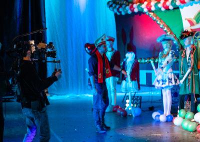 Steadycam, Kameramann, Dreh virtueller Karnevalszug