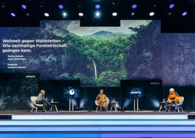 Hauptbühne vom 13. Deutschen Nachhaltigkeitspreis 2020