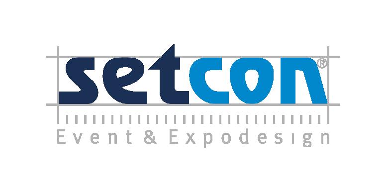 setcon Event & Expodesign Logo transparent