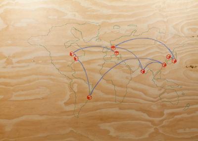 Landkarte, Spots