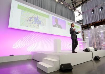 T-Systems Symposium Bühnenbild
