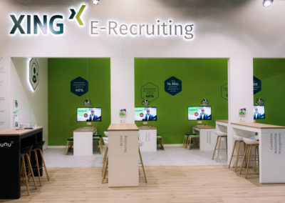 XING Messestand Individualstand DMEXCO