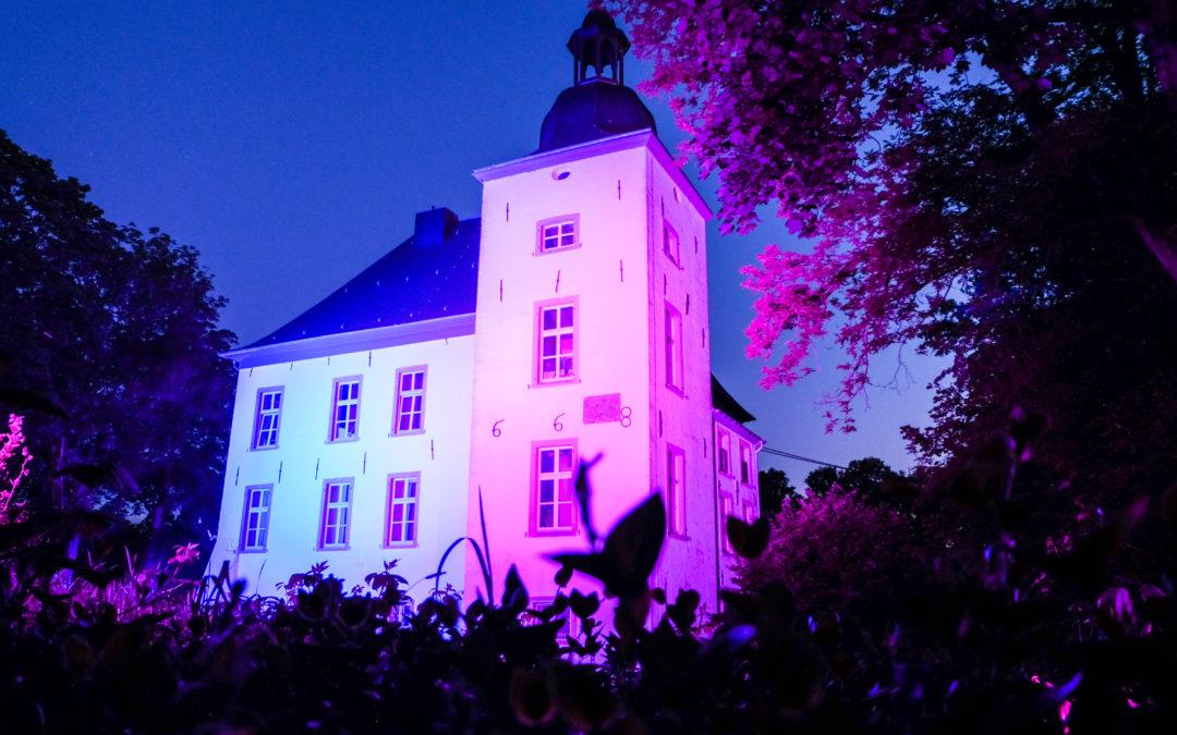 """Wasserschloss """"Haus Voerde"""" Beleuchtung"""