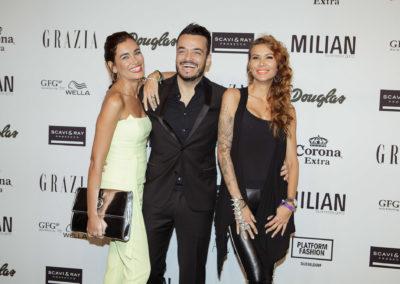 Giovanni Zarella und Jana Ina Zarella auf dem roten Teppich auf der Platform Fashion 2014