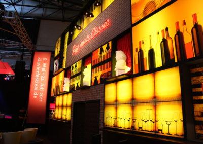 Bar, beleuchteter Digitaldruck