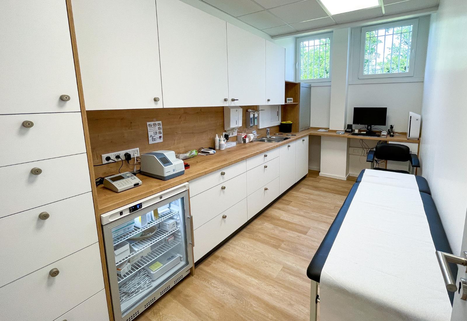Laborraum Arztpraxis