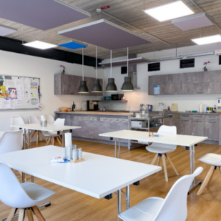 Crewkueche und Pausenraum bei setcon Event & Expodesign GmbH