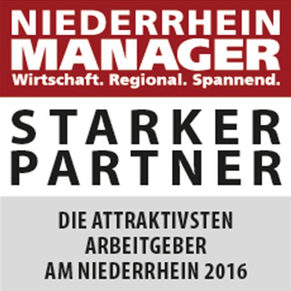 Niederrhein Manager Starker Partner attraktiver Arbeitgeber