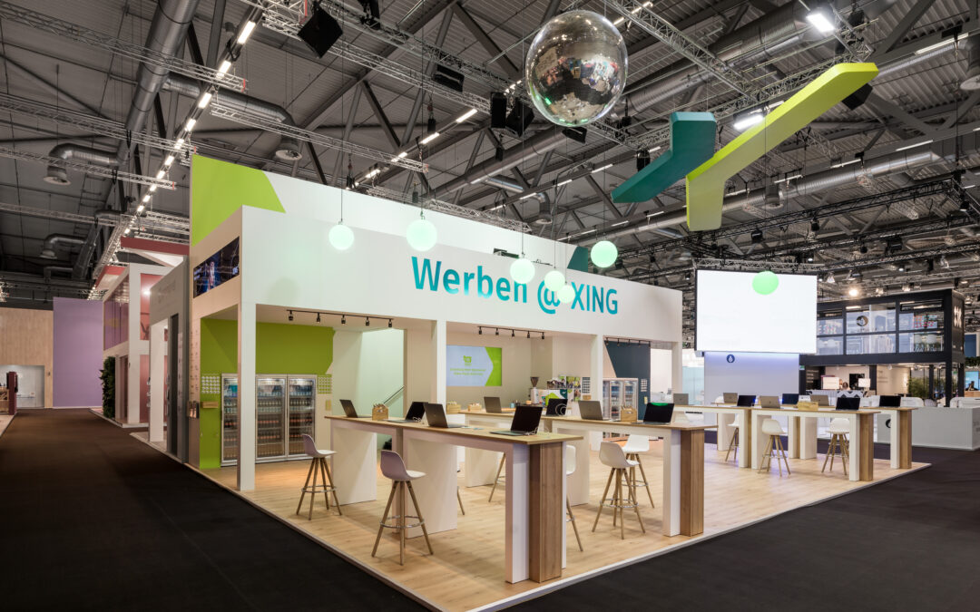 XING Messestand DMEXCO19
