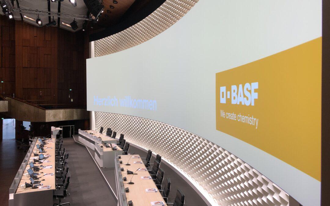 BASF Hauptversammlung Mannheim
