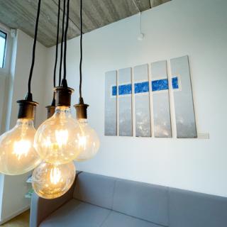 Empfangs- und Wartebereich setcon Event & Expodesign GmbH