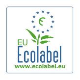 farbiges Umweltzeichen EU Ecolabel für umweltverträgliche Produkte und Dienstleistungen