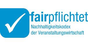 Logo fairpflichtet Nachhaltigkeitskodex der Veranstaltungswirtschaft