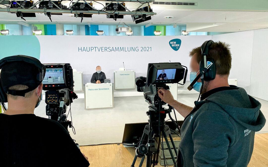 Virtuelle Hauptversammlung NEW WORK SE