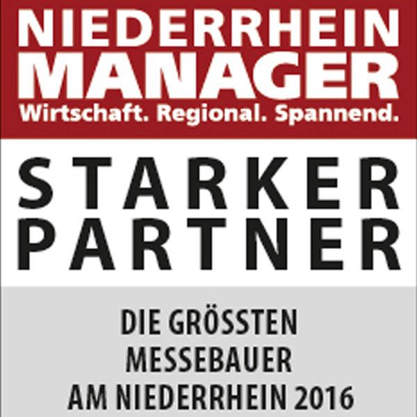 Niederrhein Manager Starker Partner Messebau