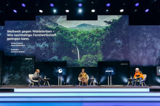 Offizieller Förderer des Deutschen Nachhaltigkeitspreises
