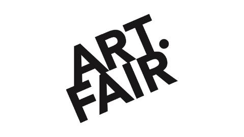 schwarzes ART.FAIR Logo auf weißem Hintergrund