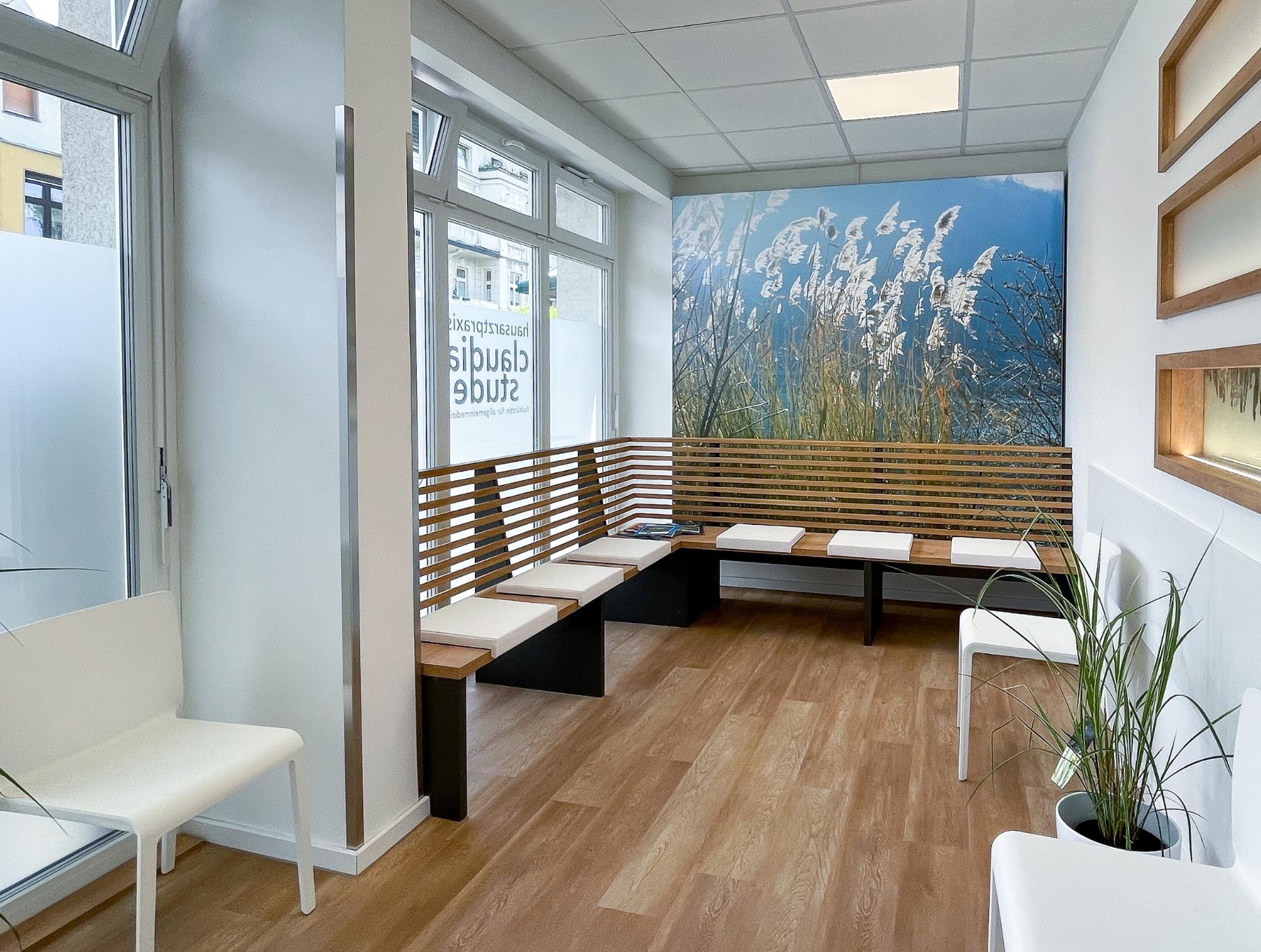 Rendering Wartezimmer Arztpraxis