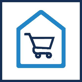 Service Icon Innenausbau und Shopdesign