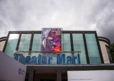 57. Grimme-Preis 2021 Theater Marl Gebäudeansicht